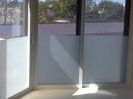 大阪市京橋で窓フィルム施工